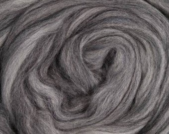 Merino Top Multi Swirl Greys  Ashland Bay 8 Ounces