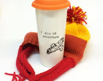Firefly Misbehave Venti ceramic travel mug