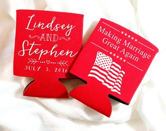 American Flag Weddings 4th of July Wedding Wedding Favors