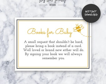Teal adventure baby shower invitation instant download honey bee books for baby baby shower insert instant download do it yourself solutioingenieria Image collections