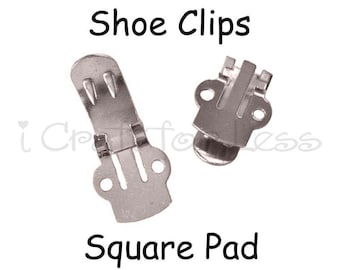 Shoe Clips Blanks - 20 (10 pairs) - SEE COUPON