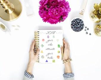 2018 Blog Planner kit - Bundle - Crystal Blog Media Kit - Blogger - Freelancer - Organized Blogging - Instant Download - Printable PDF