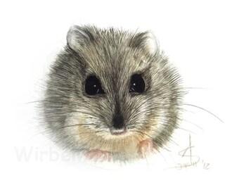 Motiv-Grußkarte Maus? (14,9 x 10,5 cm) Klappkarte, ohne Text