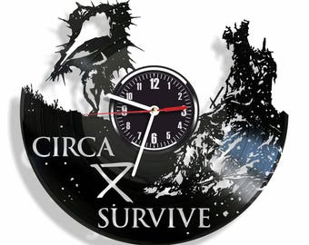 CIRCA vinyl record wall clock best eco-friendly gift for any occasion