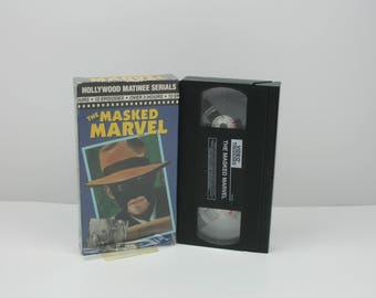 The Masked Marvel [VHS] (1943)