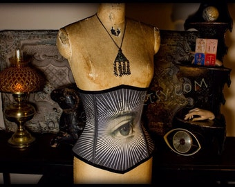The All Seeing Eye Corset by Louise Black
