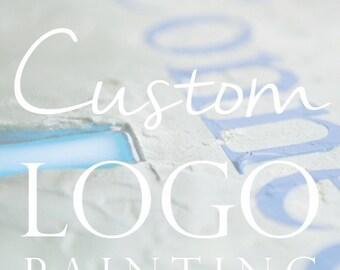 Custom Logo Painting - DEPOSIT