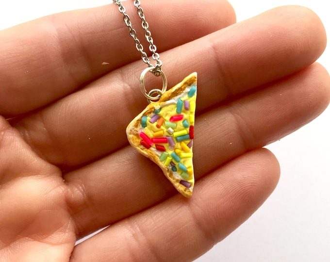 Fairy Bread Rainbow Sprinkle Necklace - Iconic Australian Party Food