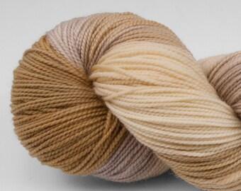 Handpainted Yarn, Superwash Merino & Nylon, Welcome, Fingering Weight, Yellowstone, 100g