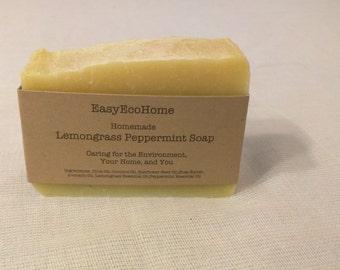 Lemongrass Peppermint Soap