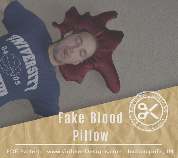 how to make a fake pool of blood