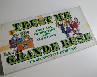 Trust Me - A Parker Brother's Board Game (1981)