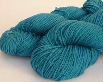 Hand dyed yarn 120g Double knit weight 100% Superwash Merino