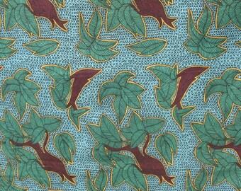 Blue Rainforest - IKEA Tillfalle Cotton Fabric