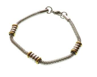 Stainless Steel Bracelet/ Stainless Steel Bracelet for Him/ Stainless Steel Bracelet for Her/Clasp