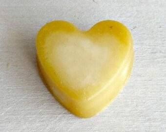 Orange Marmalade Soap Favors, Orange Mini Heart Favors, Wedding Soap Favors, Orange Soap Bridal Favors, Pretty Mini Soaps, Unique Soap Favor