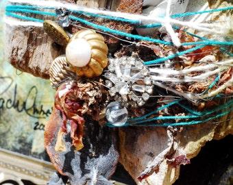 The Beach Comber Original Assemblage art