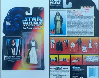 Obi-Wan 1995 Star Wars Action Figure