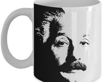Albert Einstein Coffee Mug - Physics Gift for Friend - Tea Cup