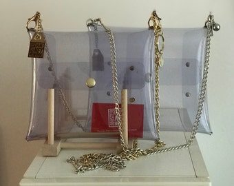AmsterdamNETWORK: See through elegant clutch or handbag