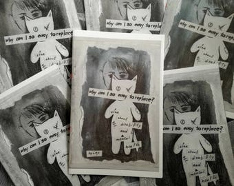 Why Am I So Easy To Replace? perzine about disability and mental health