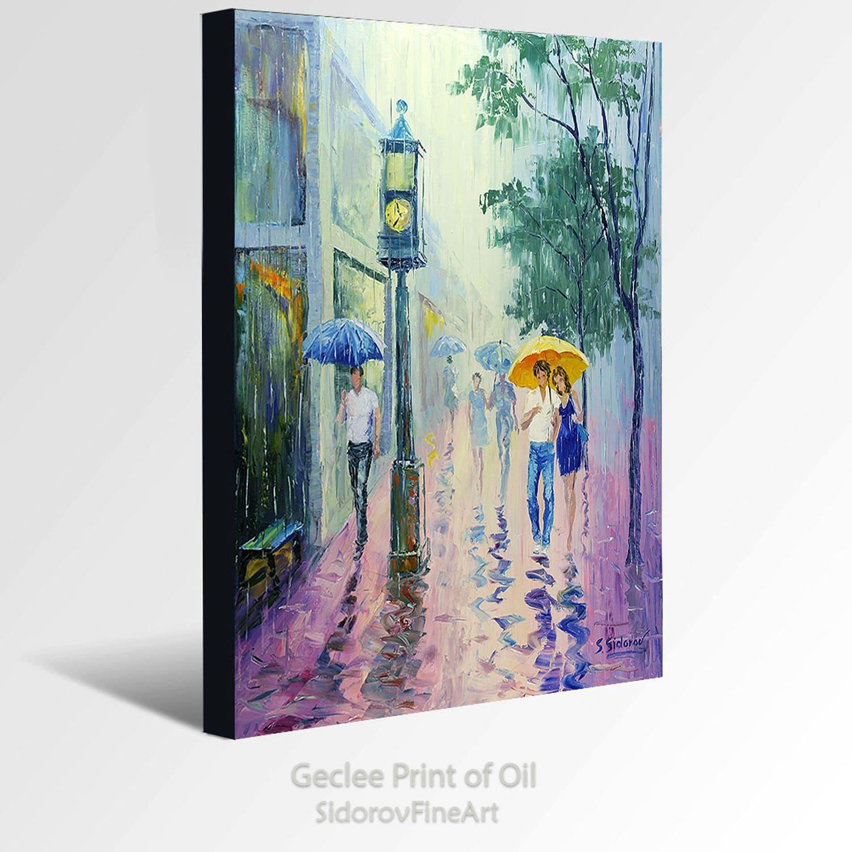 Oil Painting GICLEE Print Canvas Fine Art Print Of ORIGINAL