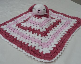 Baby Security Blanket, 100% Cotton Security Blanket, Handmade Security Blanket, Baby Blanket, Cotton Security Blanket