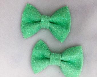 ESSIE Bow - Lime (Glitter)