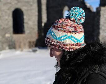 Grand Canyon Hat - Knitting Pattern