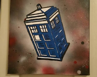 Dr. Who painting