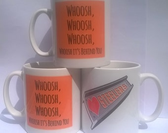 Sheffield Steelers Ice hockey 'Whoosh it's behind you' mug