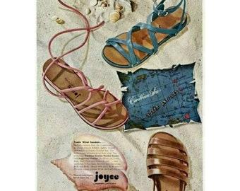1950s gladiador sandals