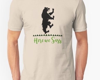 Game of Thrones / Lyanna Mormont / House Mormont // Unisex Super Soft tee // Choose from 35 colors // funny t-shirts / GOT