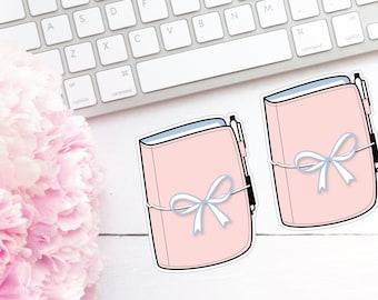 Travellers Notebook Die Cuts - Pink