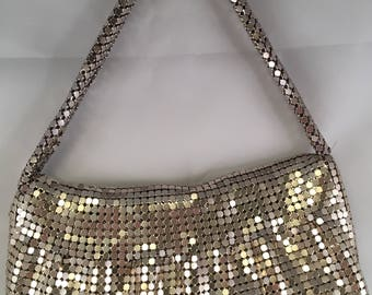 Liz Claiborne Mesh shoulder bag