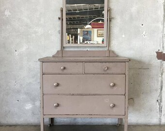 vtg 1940 50s simmons furniture metal medical. Vintage Industrial Simmons Metal Dresser With Vanity Mirror (8L5SP4) Vtg 1940 50s Furniture Medical