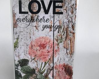 Traveler's Notebook Dashboard Love