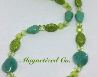 Green Anaconda Necklace