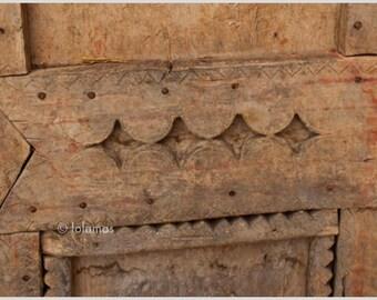 Moroccan print, Rustic Door, Rustic wall art, Fine Art Prints, Moroccan wall art, Bereber door