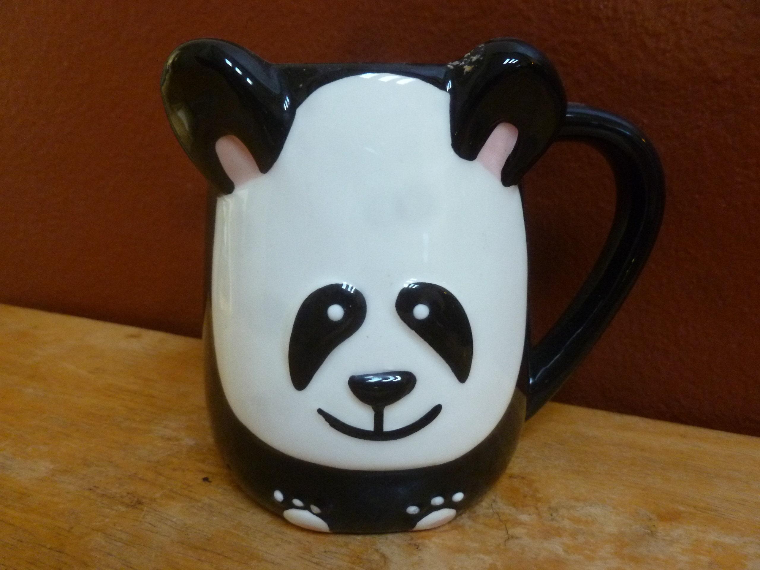 3D Panda Bear mug