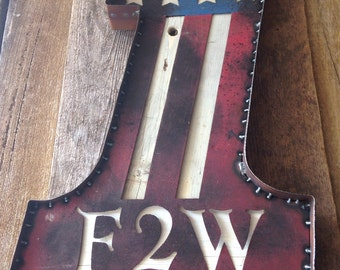 Vintage Inspired F2W Sign