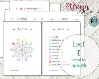 A5 printable / / Level 10 / / deepens //francais