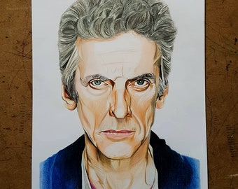 The 12th Doctor - Peter Capaldi Print