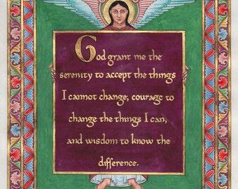 Serenity prayer Illumination