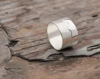 Silver Mountain Ring