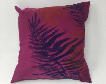 Jungle print scatter cushion