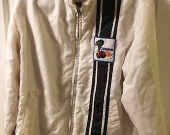 Vintage Ford Cobra Jacket, Men's size medium, Free Shipping