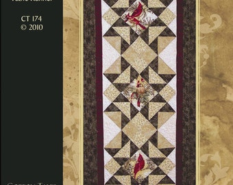 Star of the North Table Runner Pattern