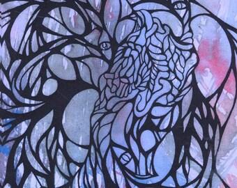 Living Breathing Creation by Jaira Donery - Cosmic creatures zine