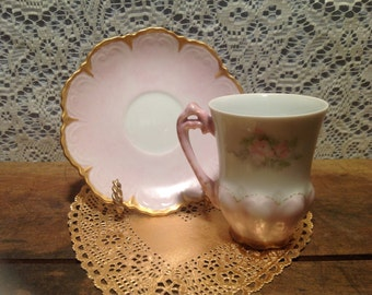 Beautiful Elegant Danity Cup and Saucer Set